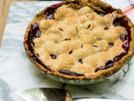 Batali Family Blackberry Pie