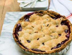 Batali Family Blackberry Pie
