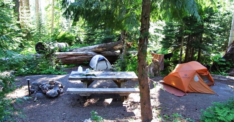 Northern Michigan camping