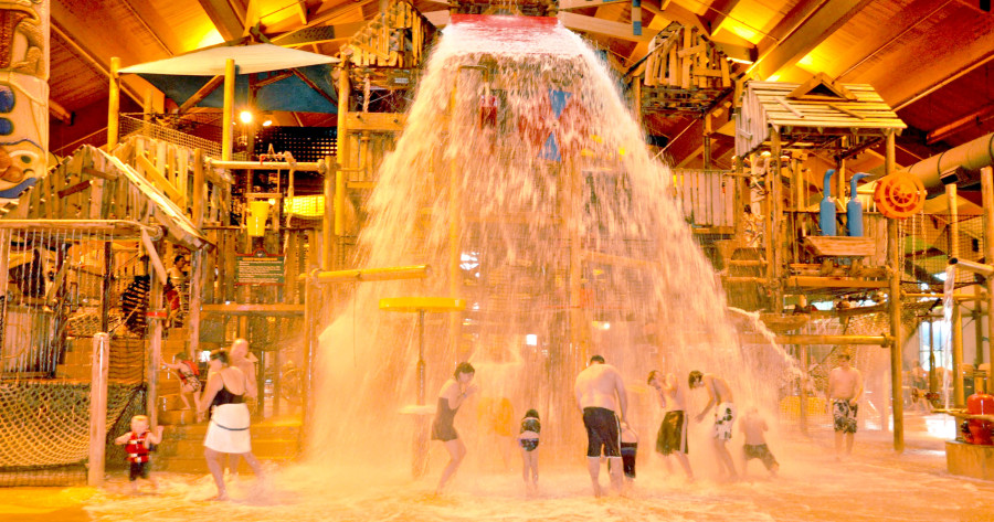 Buckets Of Fun At The Great Wolf Lodge In Traverse City Here Are Top 10 Northern Michigan Hotels