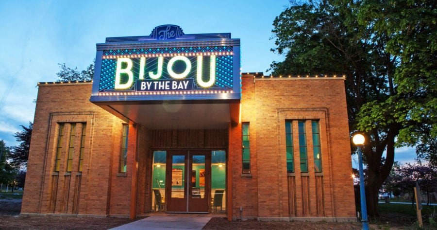 The Bijou by the Bay, one the Traverse City Film Festival venues.