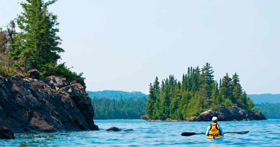Lake Superior at Isle Royale National Park