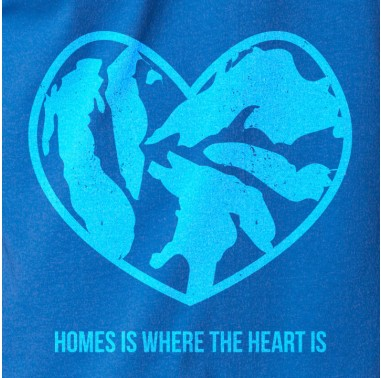 "Tee See Tee's ""HOMES is Where the Heart Is"" design"