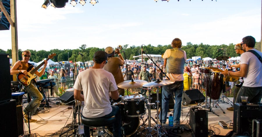 All photos courtesy of Andrew R. Bender and Hoxeyville Music Festival