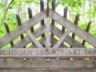 Photo courtesy of the Michigan Legacy Art Park.