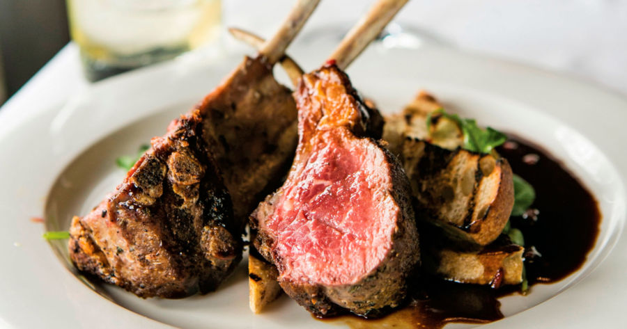 Cue mouthwatering: the lamb from Walloon Lake Inn. Photo by Todd Zawistowski.