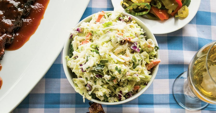 blue cheese jalapeno coleslaw
