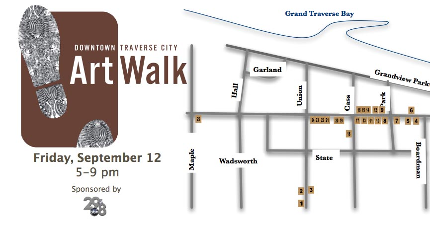 Downtown traverse city art walk for Craft shows in traverse city mi