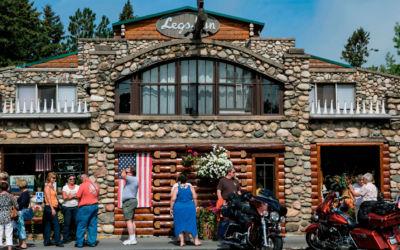 Inside Cross Village's Iconic Restaurant, Legs Inn