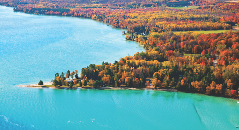 Northern Michigan Fall Color Tour Ideas