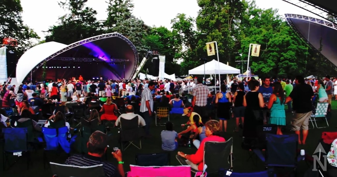 Video traverse city microbrew music festival 2014 for Craft shows in traverse city mi