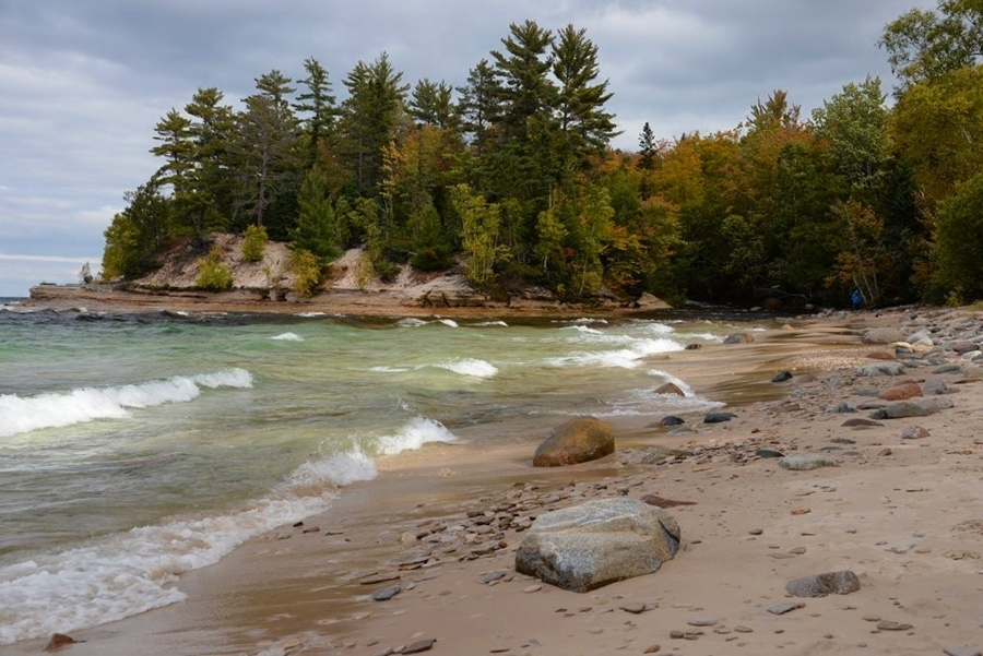 Mosquito Beach Pictured Rocks National Lakeshore