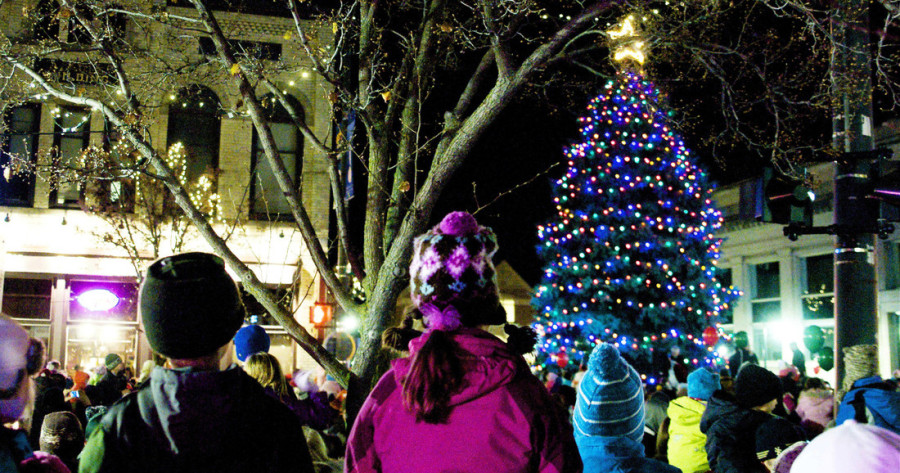 Heading To Northern Michigan For The Holidays It S Most Wonderful Time Of Year From Charlevoix Traverse City Tree Lighting Parties