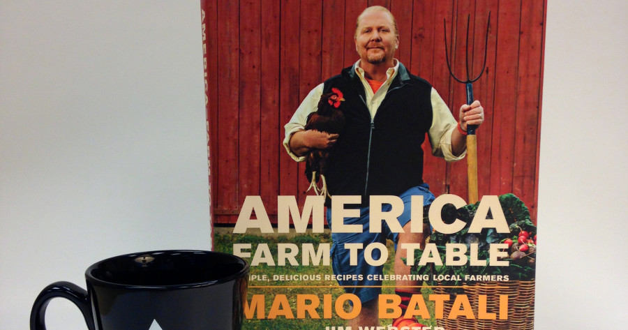 Mario Batali cookbook America Farm to Table