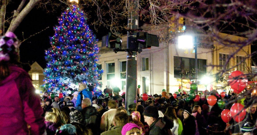 Get Your Jingle Bells On And Head To Downtown Traverse City Friday December 5 2017 For Santa S Arrival The Tree Lighting Holiday Open House