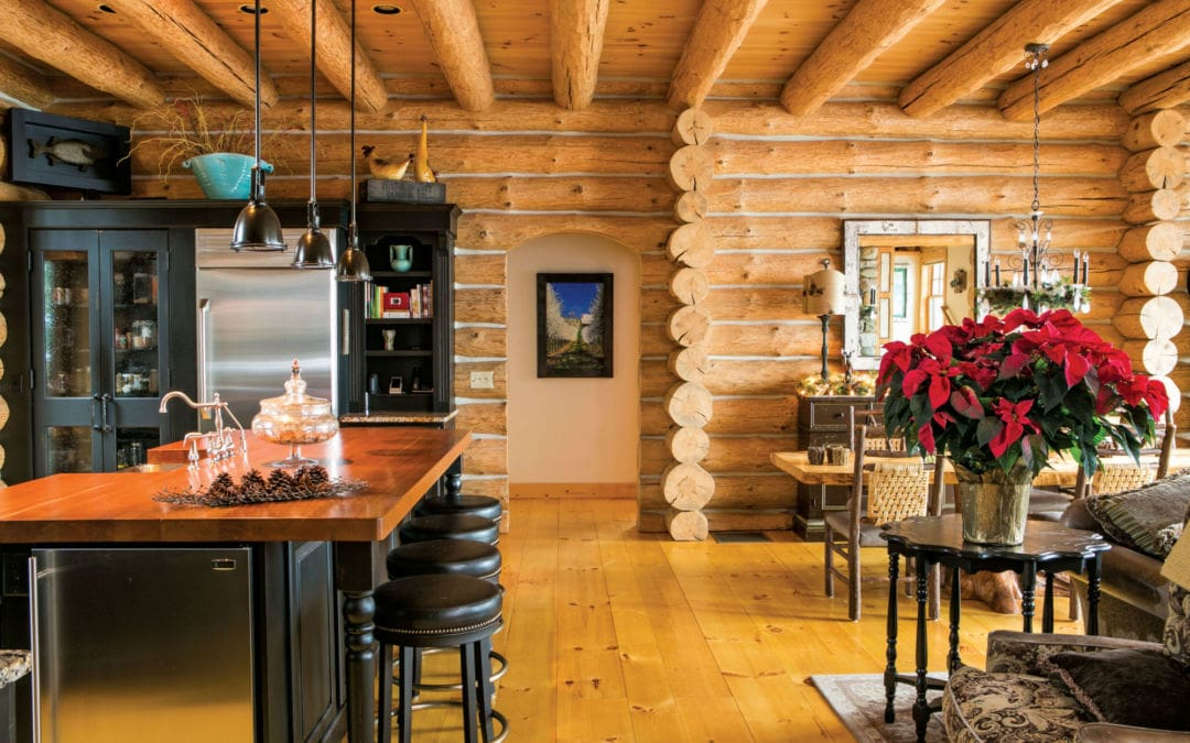 log home in northport