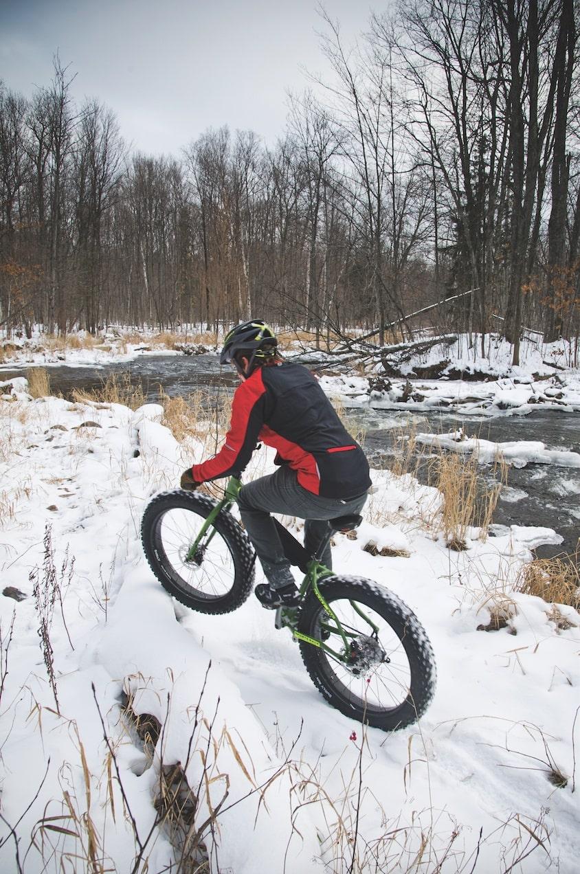 fat tire snow bike northern michigan