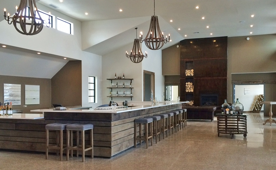 Behind The Interior Design Of Bonobo Winery On Old Mission