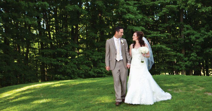 Summer Crystal Mountain Wedding