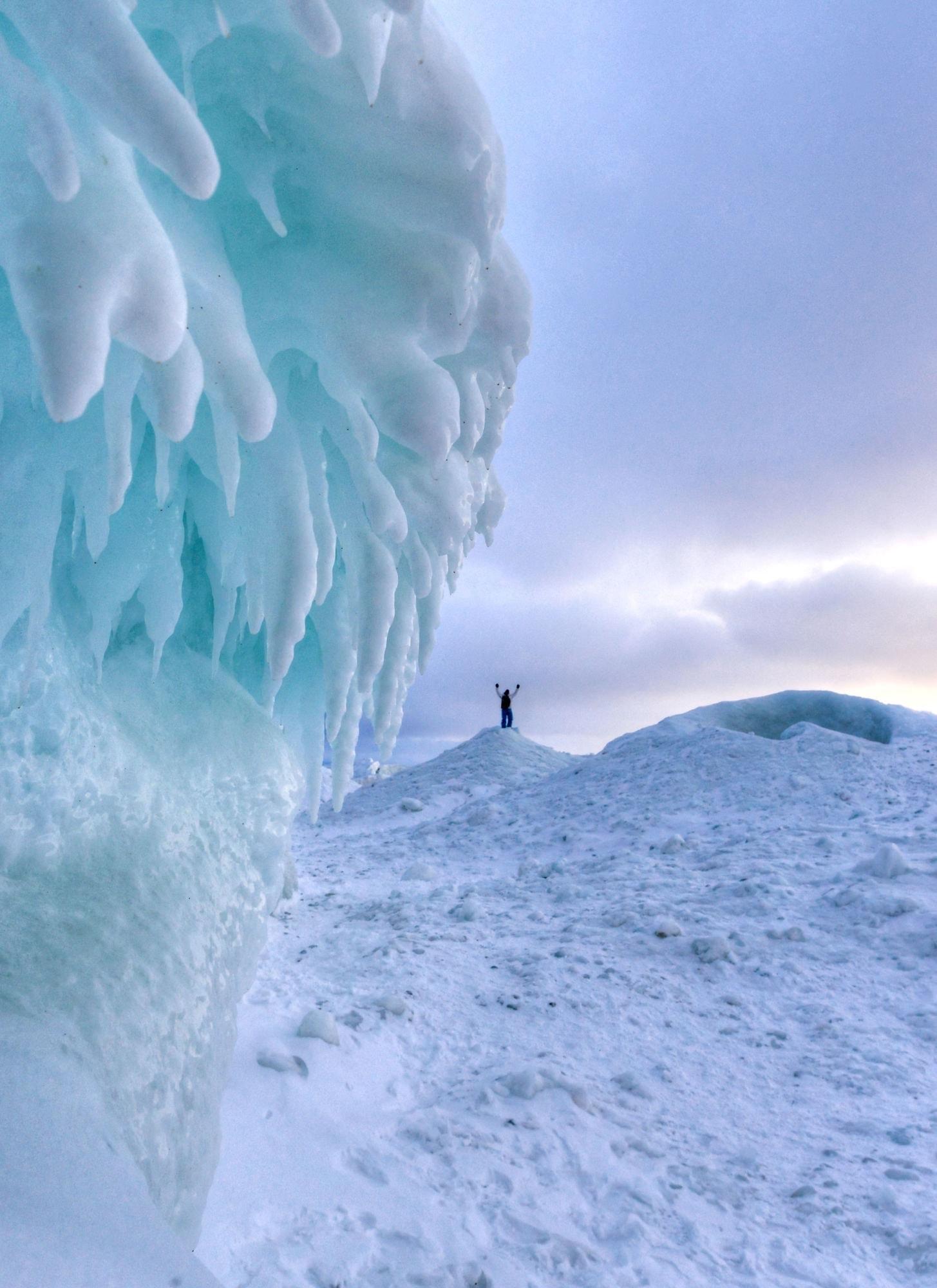 Leelanau Ice Caves