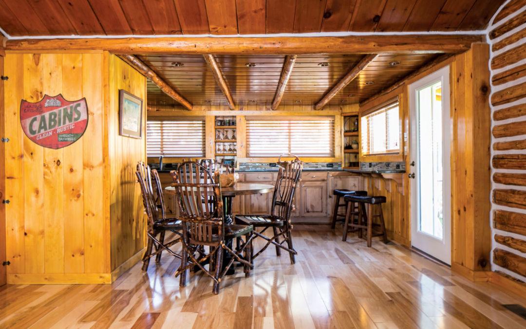 log cabin in east jordan