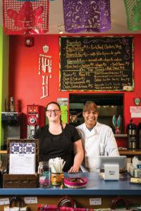 Anna and Vincente Serrano, proprietors of Spanglish