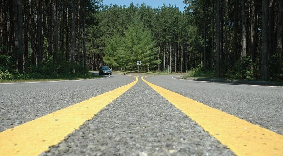 old mission, bluff road, scenic drive