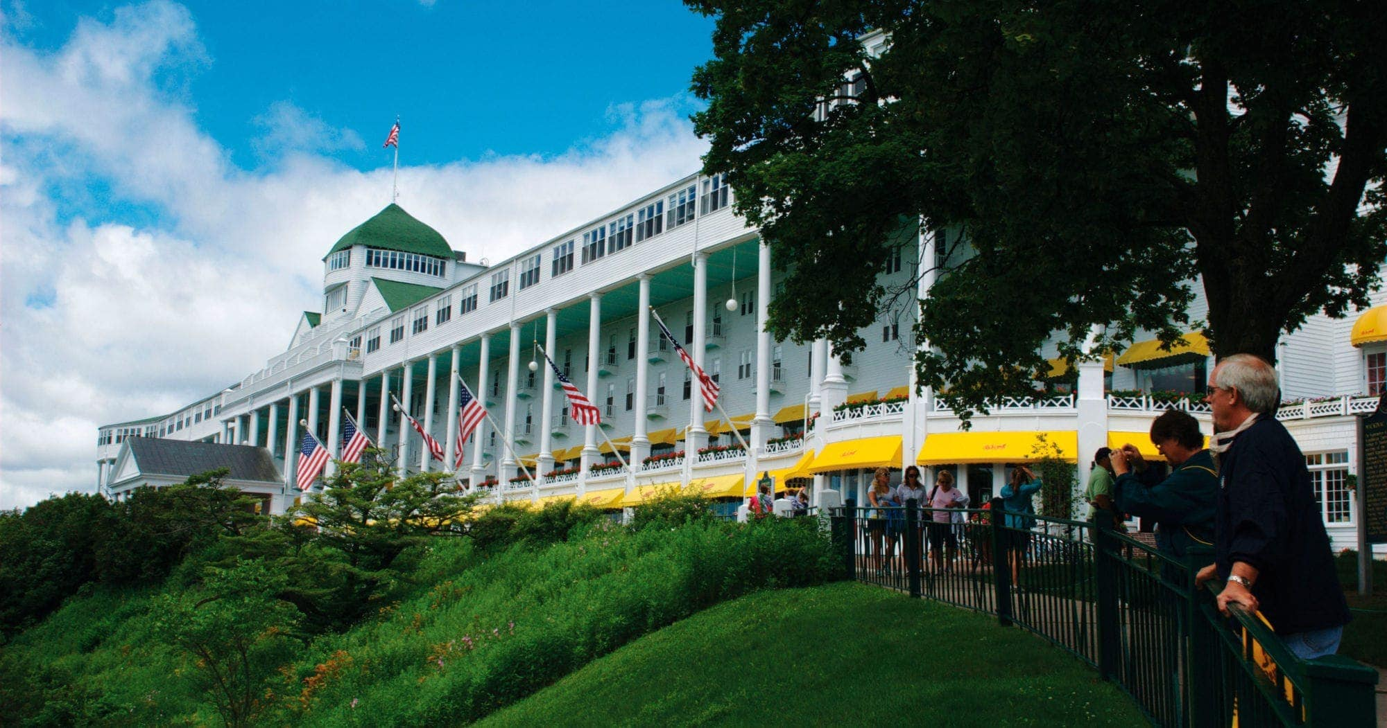 2015 most romantic hotel grand hotel on mackinac island for Craft shows in traverse city mi