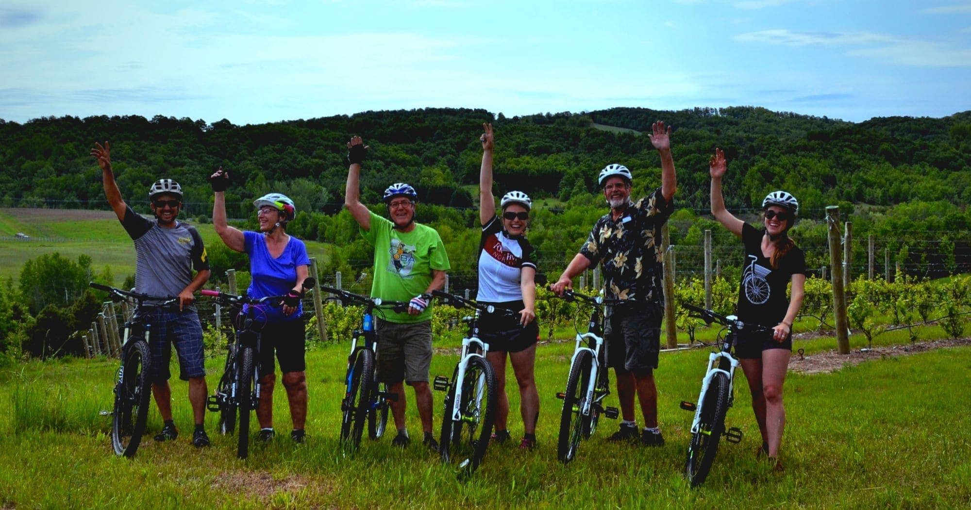 grand traverse bike tours cycle the vineyards tour. Black Bedroom Furniture Sets. Home Design Ideas