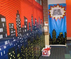 TADL Superhero Wall