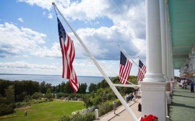 Star Spangled 4th of July on Mackinac Island
