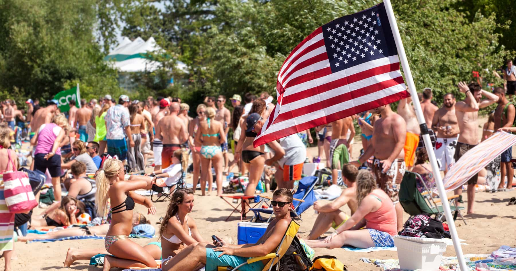 Celebrate the fourth of july in traverse city for Craft shows in traverse city mi