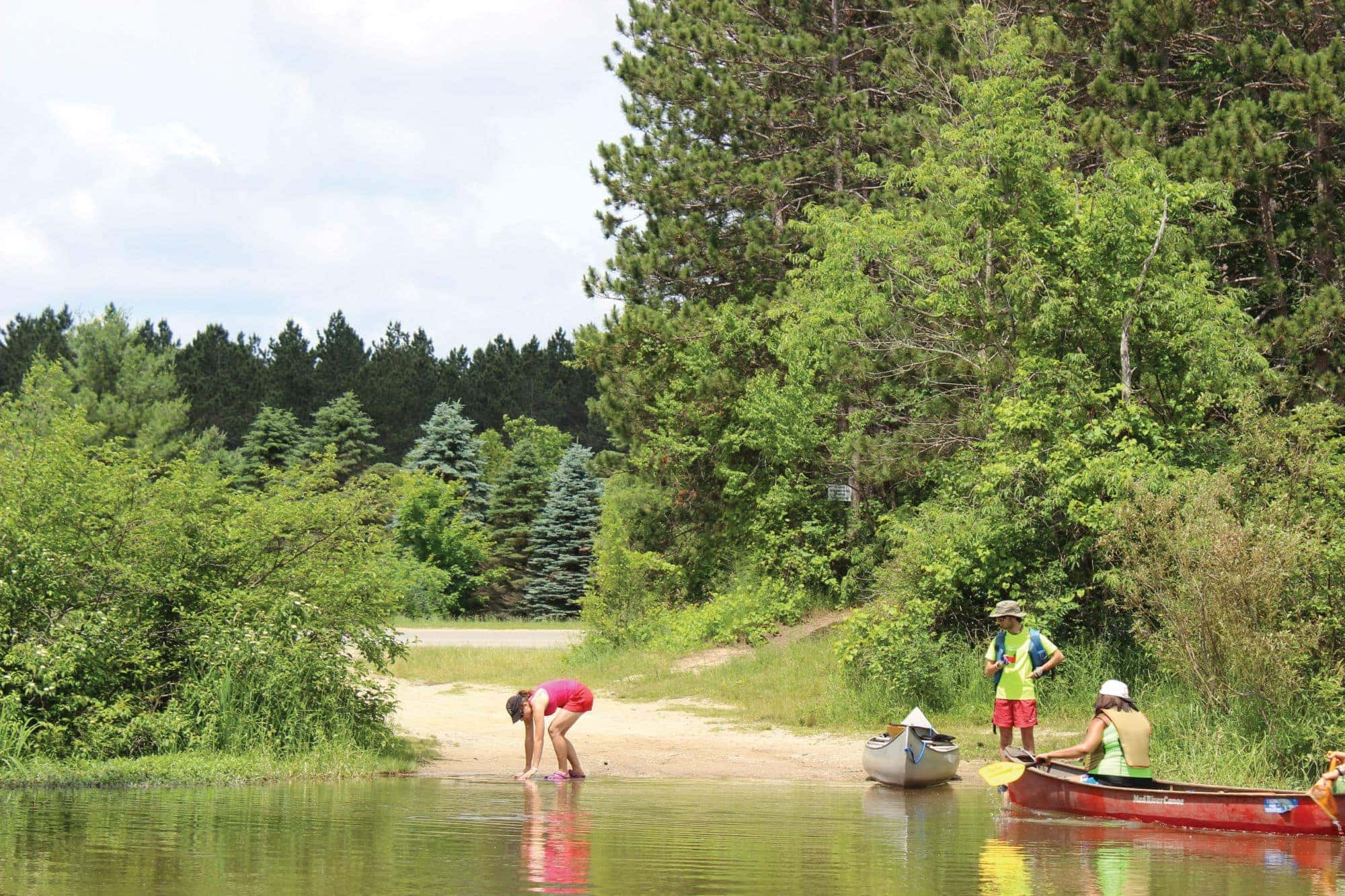5 Days Paddling the Manistee River (Camping + Fishing Tips