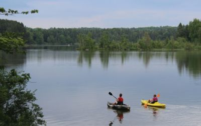 5 Days Paddling the Manistee River (Camping + Fishing Tips, Too)