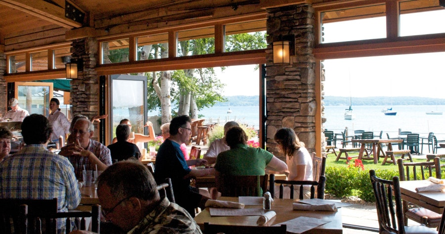 Top 10 Northern Michigan Restaurants With A View Mynorth Com