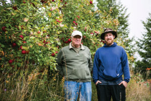 Dennis (left) & Kyle Mackey