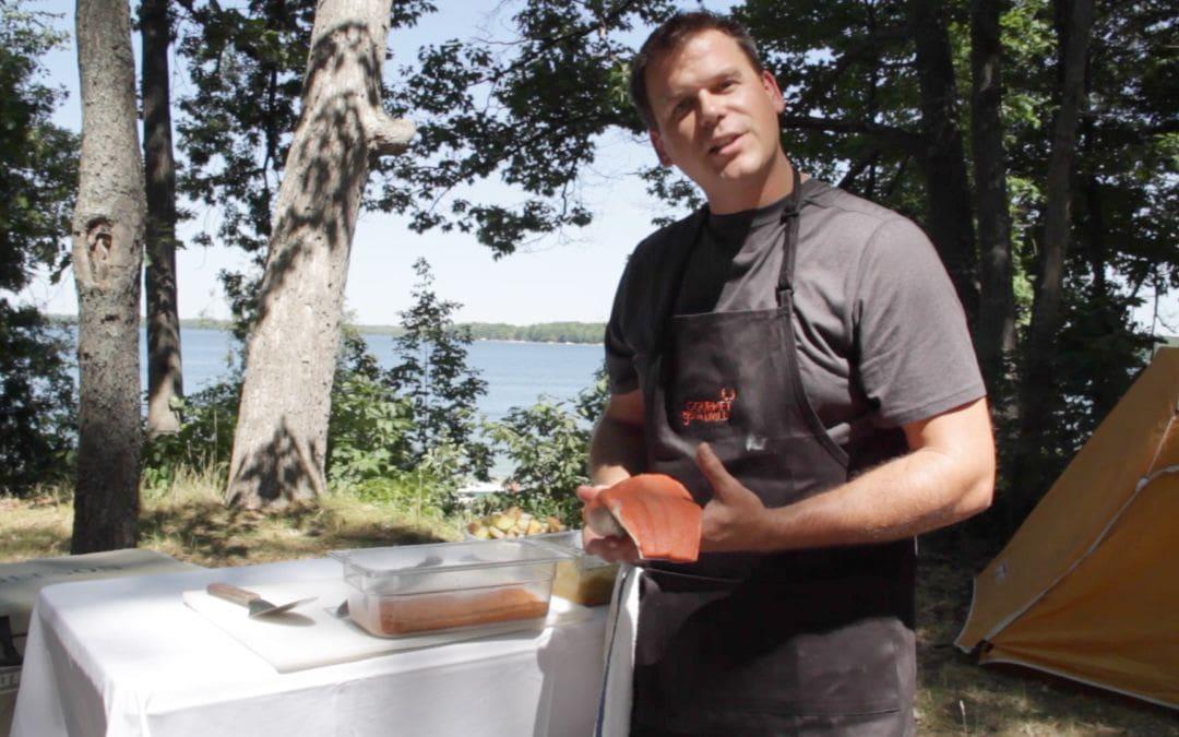 Gourmet Gone Wild Grills Northern Michigan Salmon