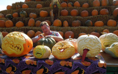 Northern Michigan Pumpkin Carver Pat Harrison