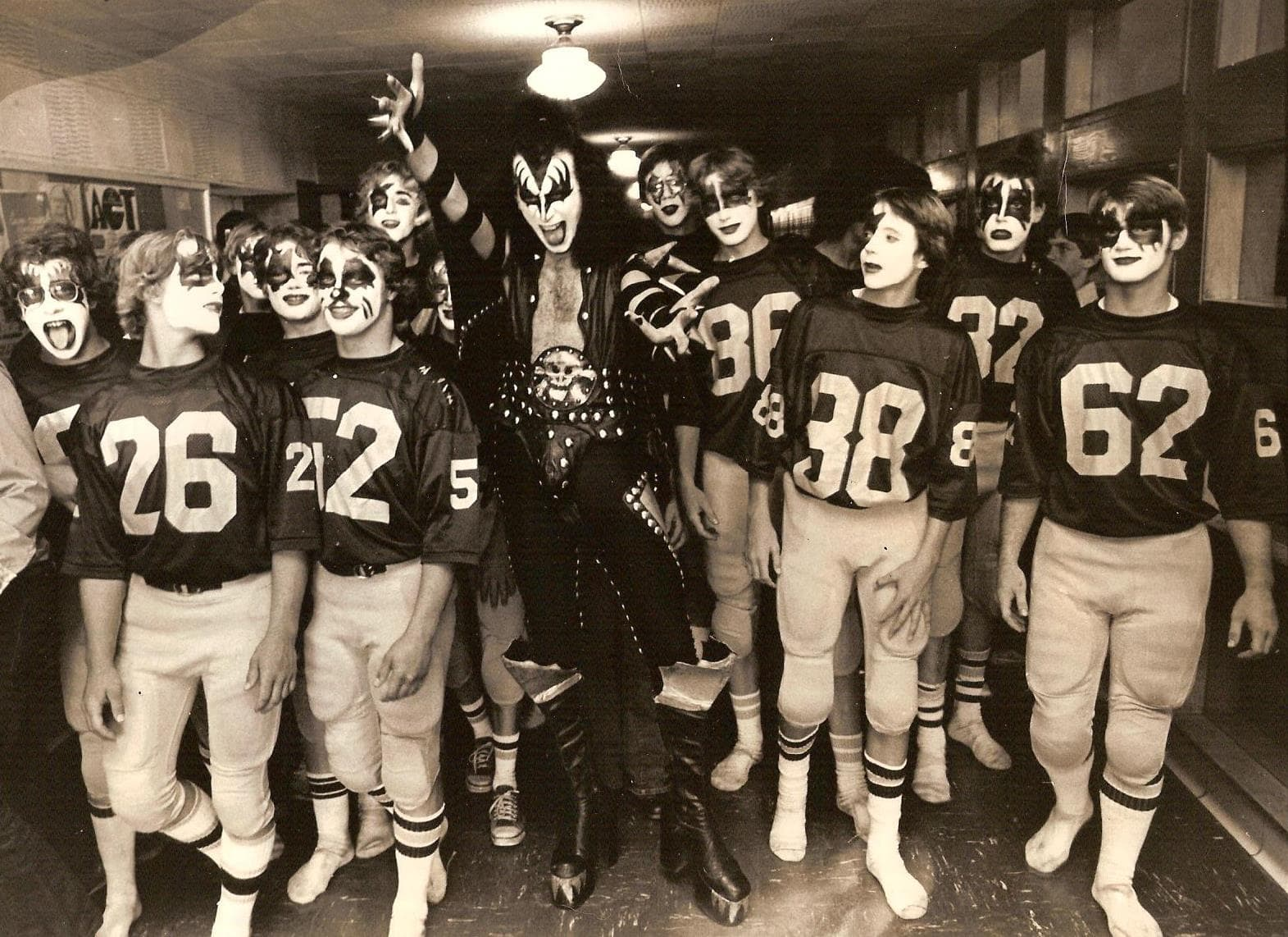 When KISS Visited Cadillac High School in 1975 - MyNorth.com