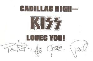 KISS visited Cadillac