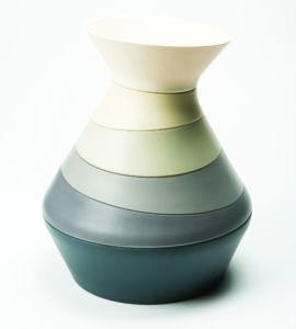Six-Piece Stackable Bowl Sculpture
