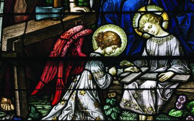 World-Class Stained Glass in Leelanau Church