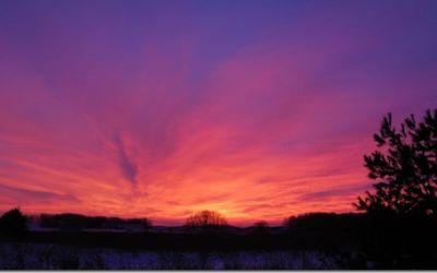 Almost Solstice Sunrise