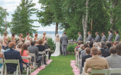 Chic Stafford's Northern Michigan Wedding in Petoskey