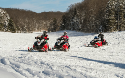 Northern Michigan Snowmobile Trails, Rentals and Hubs