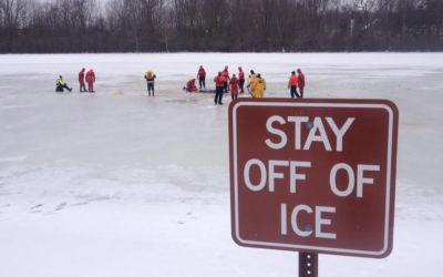 Coast Guard Warns Northern Michigan Ice Unstable