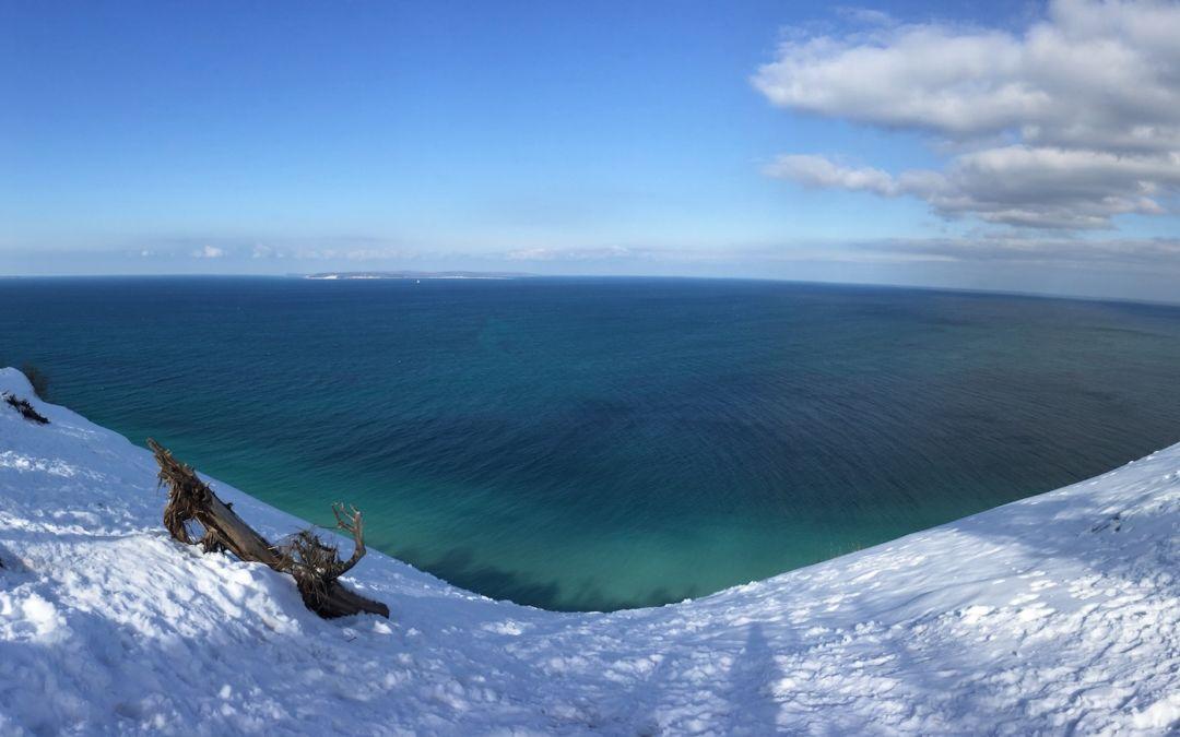 Blue Skies at Pyramid Point