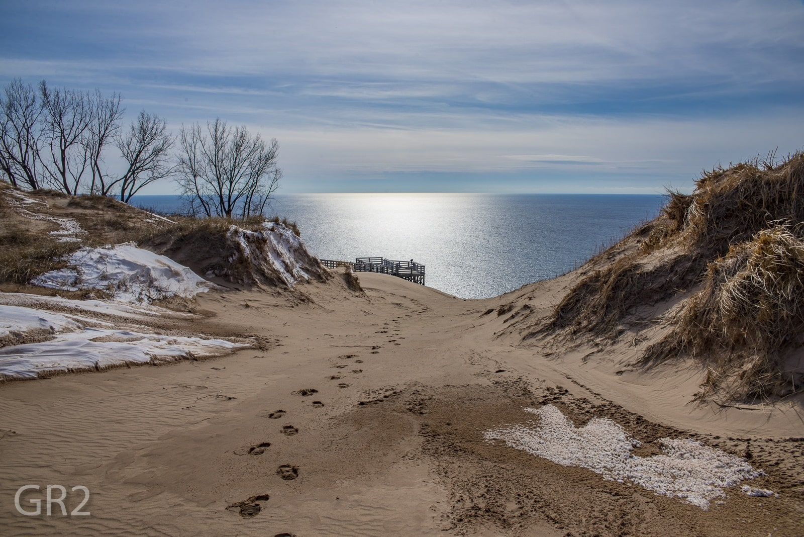 Sleeping Bear Dunes Lake Michigan Overlook Mynorth Com
