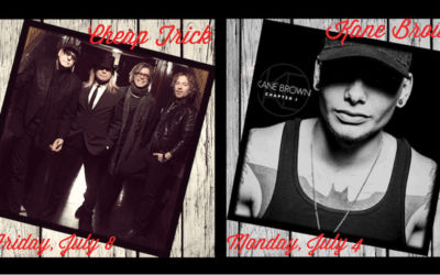 Cheap Trick & Kane Brown Perform at National Cherry Festival