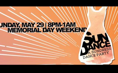 SunDance Dance Party in Downtown Traverse City May 29